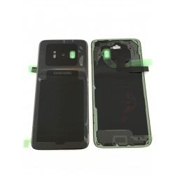 Vitre Arrière ORIGINALE Noire Carbone - SAMSUNG Galaxy S8 - SM-G950F