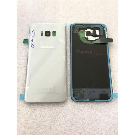 Vitre Arrière ORIGINALE Argent Polaire - SAMSUNG Galaxy S8+ - SM-G955F