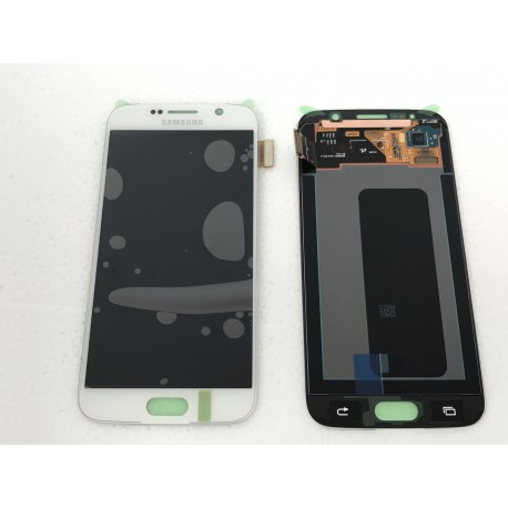 Bloc Avant ORIGINAL Blanc - SAMSUNG Galaxy S6 - G920F