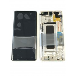 Bloc écran ORIGINAL OR Topaze pour SAMSUNG Galaxy Note8 - N950F