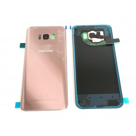 Vitre Arrière ORIGINALE Rose Poudré - SAMSUNG Galaxy S8+ - SM-G955F