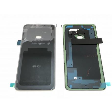 Vitre Arrière ORIGINALE Noire Carbone - SAMSUNG Galaxy A8 2018 / SM-A530F/DS Double SIM