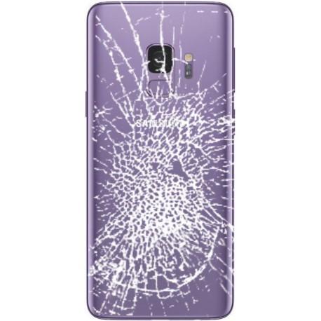 [Réparation] Vitre Arrière ORIGINALE Ultra Violet - SAMSUNG Galaxy S9 / SM-G960F/DS Double SIM