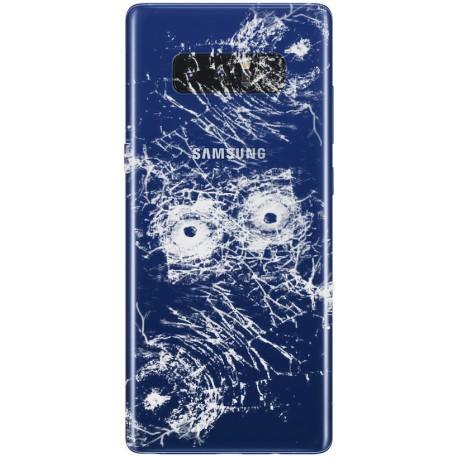 [Réparation] Vitre Arrière ORIGINALE Bleue Roi - SAMSUNG Galaxy Note8 / SM-N950F/DS Double SIM