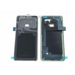 Vitre Arrière ORIGINALE Noire Carbone - SAMSUNG Galaxy A8 2018 / SM-A530F