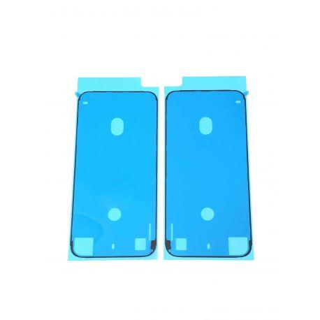 Adhésif double face Noir de bloc écran pour iPhone 8 - Présentation avant / arrière