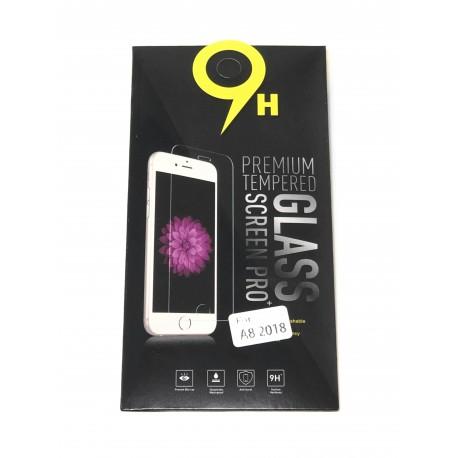 Film Verre Trempé pour SAMSUNG Galaxy A8 - A530F - Présentation avant