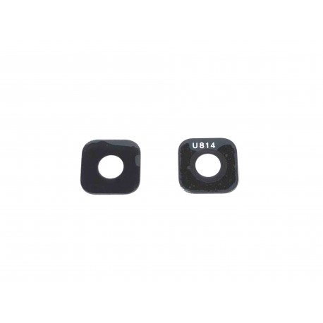 Vitre de caméra arrière ORIGINALE pour SAMSUNG Galaxy A6 - A600F - Présentation avant / arrière