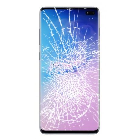 [Réparation] Bloc écran complet ORIGINAL Bleu Prisme pour SAMSUNG Galaxy S10+ - G975F