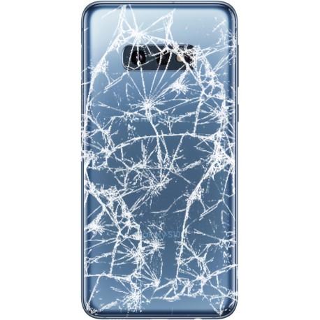 [Réparation] Vitre arrière ORIGINALE Bleu Prisme pour SAMSUNG Galaxy S10e - G970F