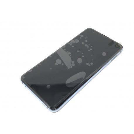 Bloc écran complet ORIGINAL Bleu Prisme pour SAMSUNG Galaxy S10e - G970F - Présentation avant