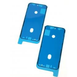 Adhésif double face noir du bloc écran de qualité d'origine pour iPhone XS - Présentation avant / arrière