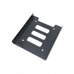 Adaptateur de montage 2.5p vers 3.5p pour SSD ou disque dur - Présentation dessus