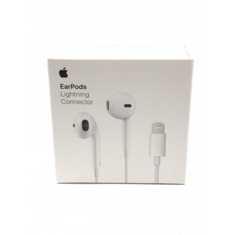 Ecouteurs ORIGINAUX EarPods Lightning pour iPad ou iPhone ou iPod - Présentation avant