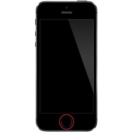 [Réparation] Nappe de Bouton HOME Noir ORIGINALE - iPhone 5S