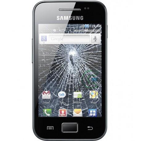 [Réparation] Vitre Tactile ORIGINALE Noire - SAMSUNG Galaxy ACE - S5830
