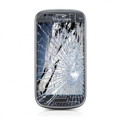 [Réparation] Bloc Avant ORIGINAL Gris - SAMSUNG Galaxy S3 Mini - i8190