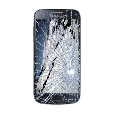 [Réparation] Bloc Avant ORIGINAL Dark Black - SAMSUNG Galaxy S4 Mini - i9195