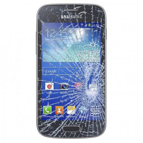 Forfait Réparation Vitre Tactile ORIGINALE Noire + Adhésifs - SAMSUNG Galaxy ACE 3 S7275