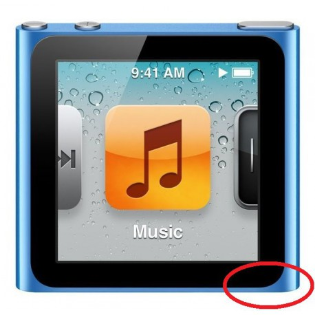 [Réparation] Nappe Jack Blanche - iPod Nano 6