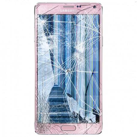 [Réparation] Bloc Avant ORIGINAL Rose - SAMSUNG Galaxy NOTE 4 - N910